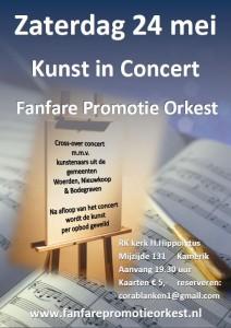 Affiche Kunst in Concert FPO 24 mei Kamerik