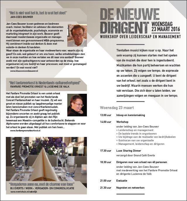 De nieuwe Dirigent Flyer blz 2-3