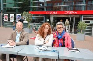 Jury Alphense Maestro 2015 bestaande uit Joop Nijholt, Tineke Maas en Ingrid Slangen